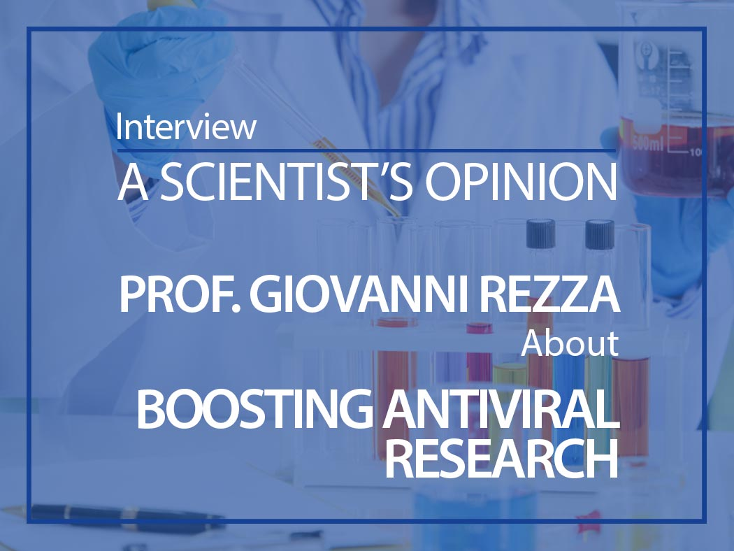 A scientist's opinion: Interview with Professor Giovanni Rezza on tackling the Covid-19 pandemic