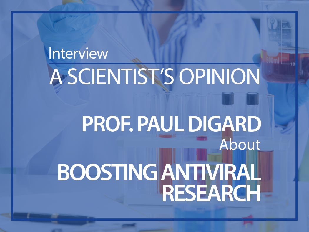 A scientist's opinion: Interview with Professor Paul Digard on research efforts to develop treatments against Covid-19