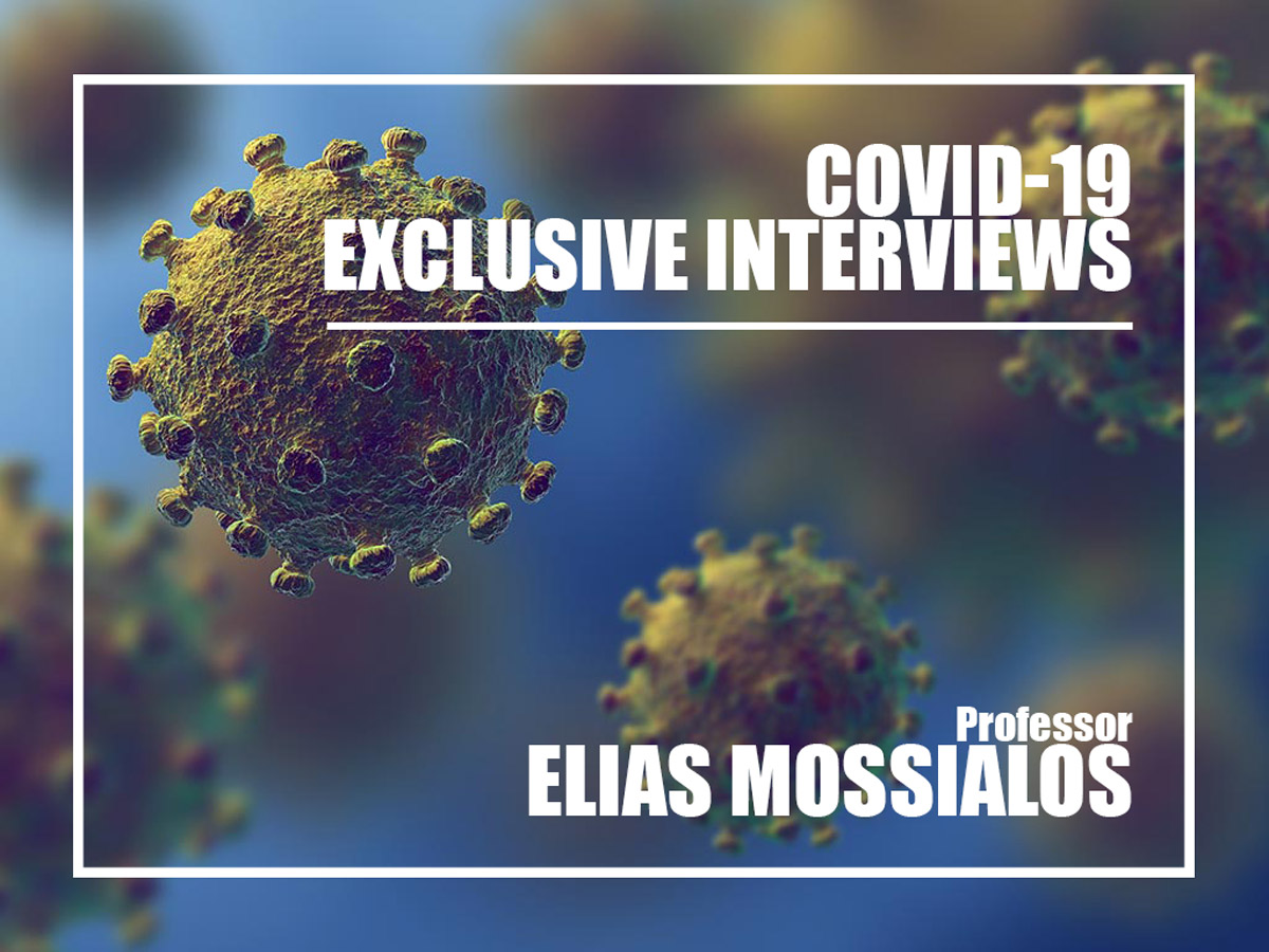 Elias Mossialos interview