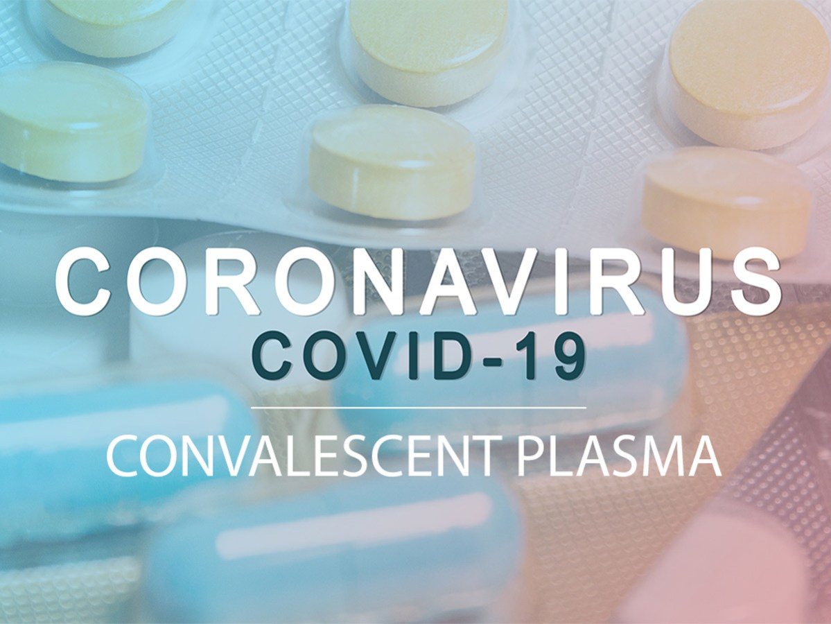 Coronavirus Covid-19 treatment illustration banner