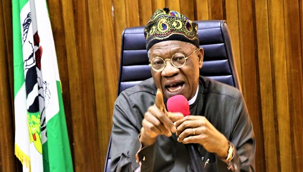 The Minister of Information and Culture, Alhaji Lai Mohammed