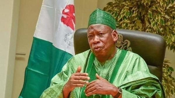 The governor of Kano State, Dr. Abdullahi Ganduje.