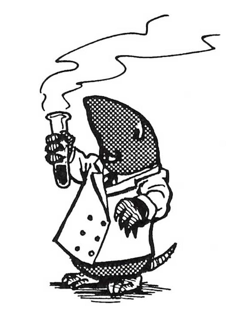 Mole Day Mascot