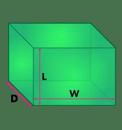 Surface Area Formulas and Volume Formulas of 3D Shapes [ 1000 x 1000 Pixel ]