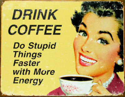 Coffee = Energy!