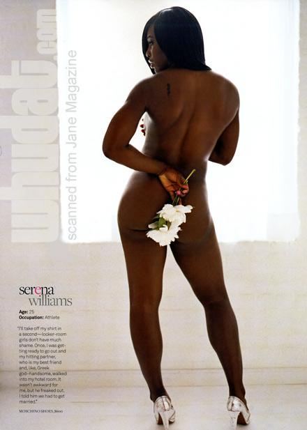 A Fit Serena Williams:  Jane Magazine