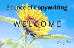 Science of Copywriting Welcome Message Image
