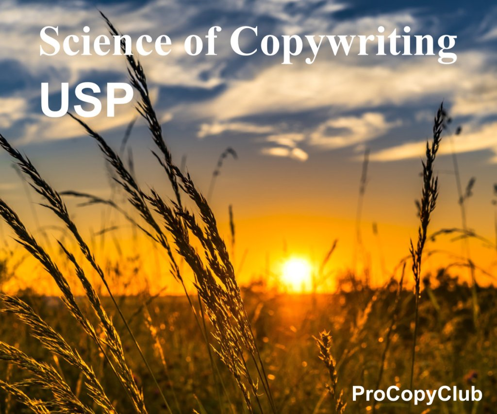 USPs and the copywriting business - image of a field