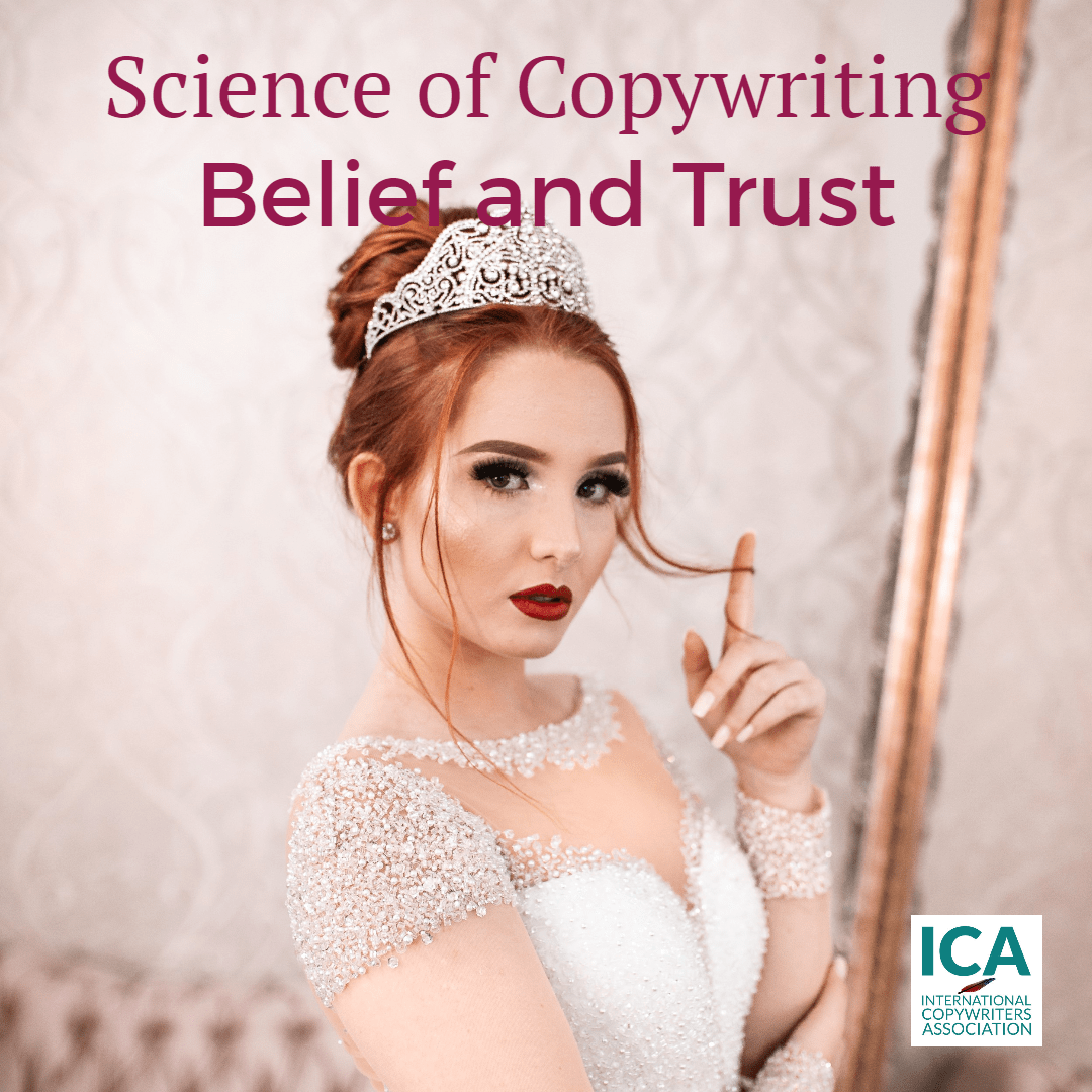 Trust is fine, but trust without belief is an issue [Copywriting Tips]