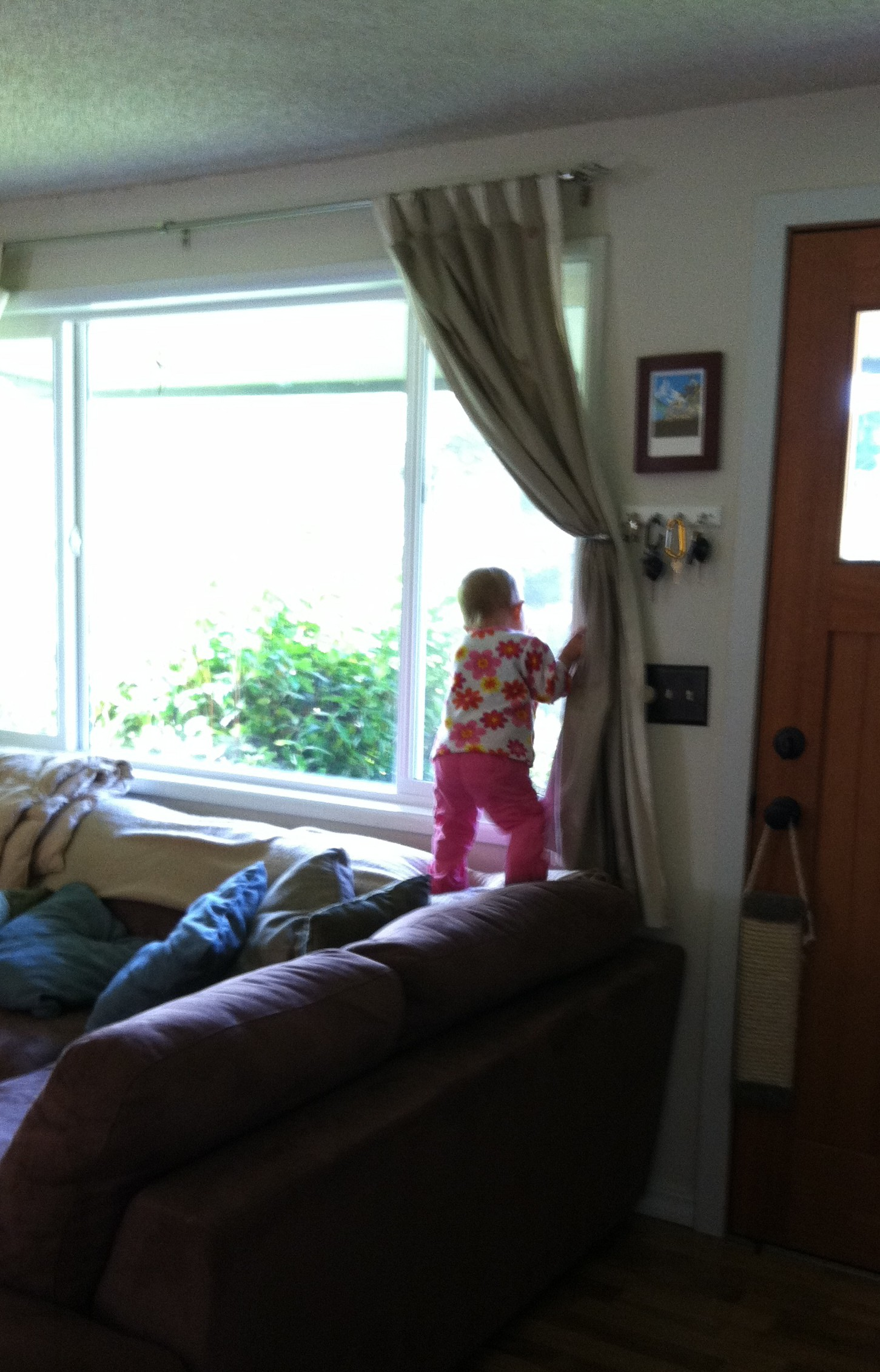 Letting Toddlers Climb Teetering on the Balance of