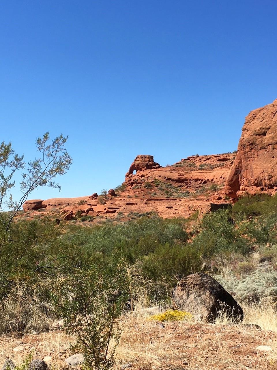 Red Cliffs. St. George. Utah