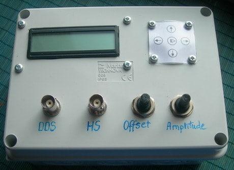 AVR DDS signal generator