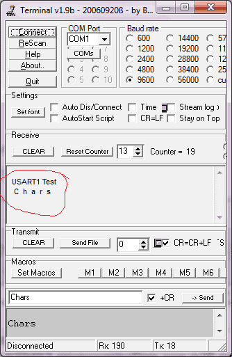 Connecting STM32 USART to standard I/O streams in GCC | Do