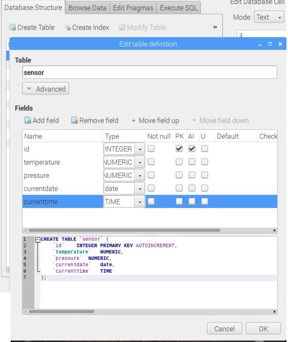 Powerful open source SQLite manager for Raspberry Pi   Do It
