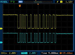 Matching TX433 and RX433 signals