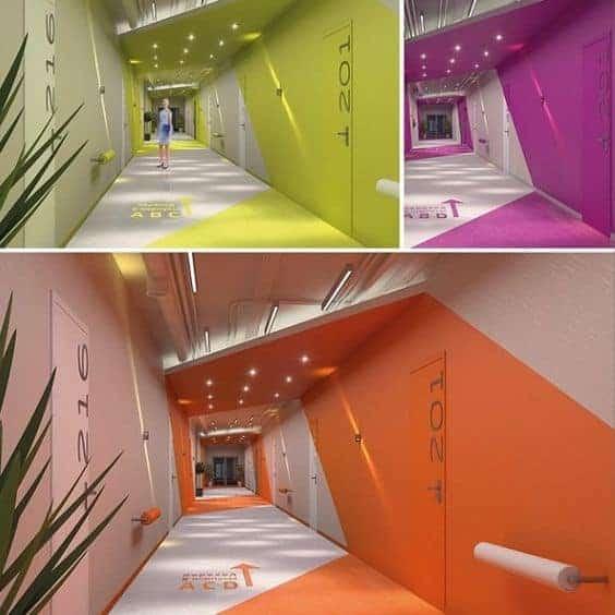 Brighten Your Dark Office Hallway