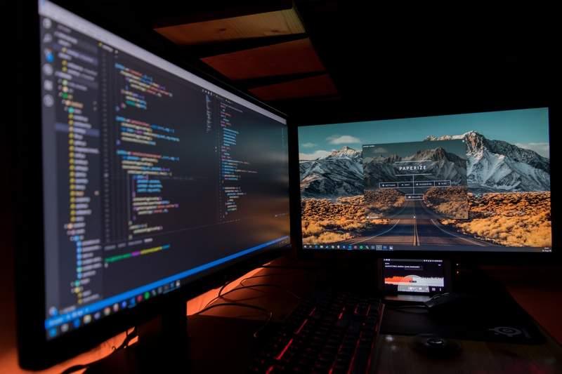 coding workplace