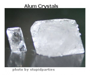 Alum Crystal Specimens