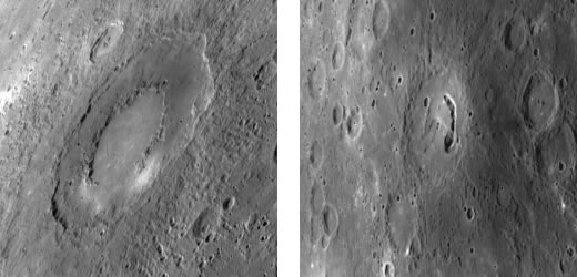 New 2009 images of the planet Mercury