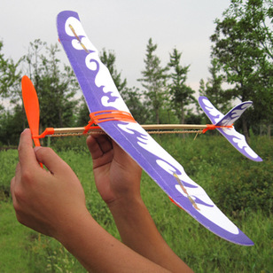 Rubber Band Airplane