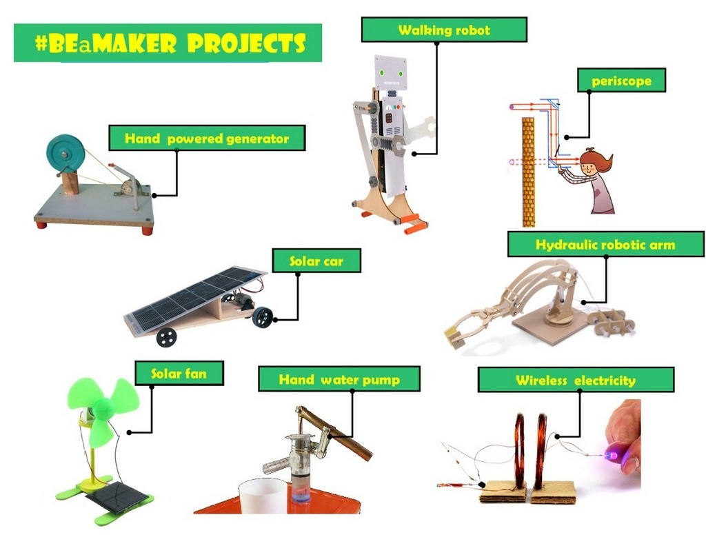 Be A Maker STEM Kit 2.0 projects