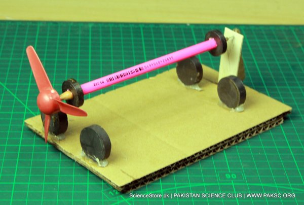 Magnetic levitation experiment school science project kit