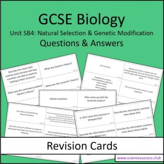 Screenshots of the Edexcel Biology SB4 resource