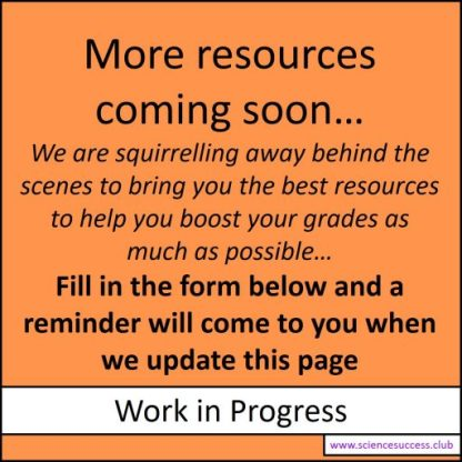 "Sign that says 'More resources coming soon. Fill in the form below to get a reminder when we have updated this page""."