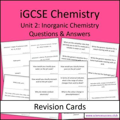 Screenshots of the Edexcel iGCSE C2 resource