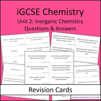 Screenshots of the Edexcel iGCSE C2 resource