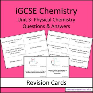 Screenshots of the Edexcel iGCSE C3 resource