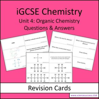 Screenshots of the Edexcel iGCSE C4 resource