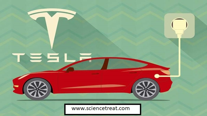 tesla self driving car. sciencetreat.com