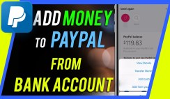 Add Money to PayPal Account
