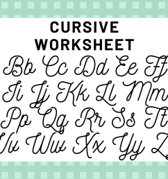 Cursive Alphabet: Your Guide To Cursive Writing   Science Trends [ 1080 x 1920 Pixel ]