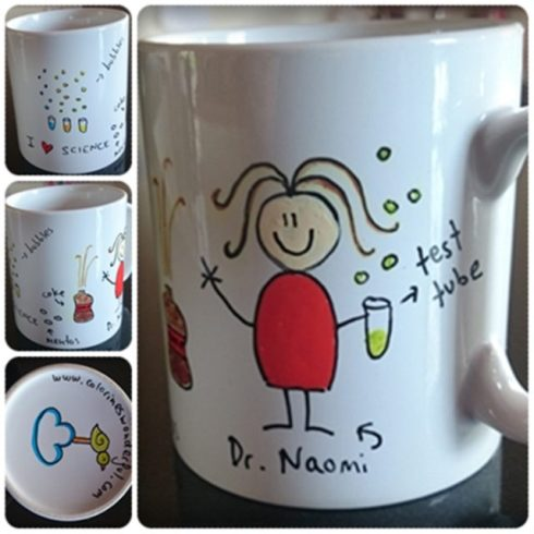 Dr. How has her very own mug!