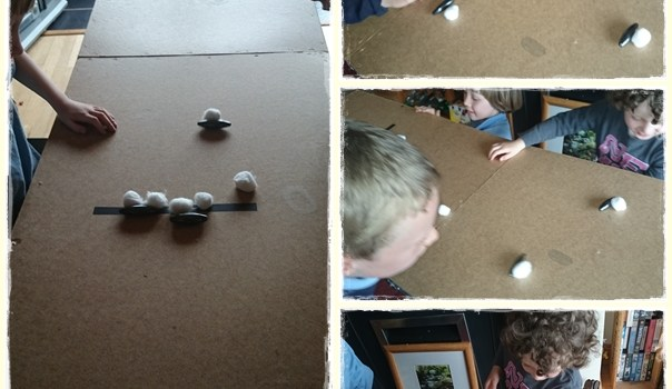 Fun Friday – Magnets Part 1… a favourite magnet game