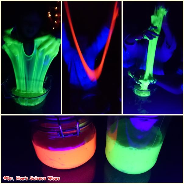 fun friday glowing monster slime dr how 39 s science wows. Black Bedroom Furniture Sets. Home Design Ideas