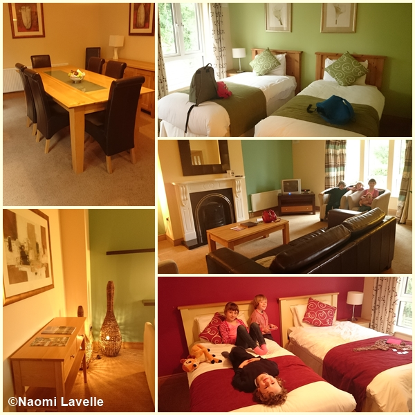 Self catering lodge at Mount Wolsley Golf hotel and Spa