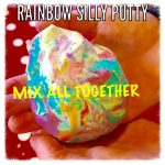 How to make rainbow silly putty