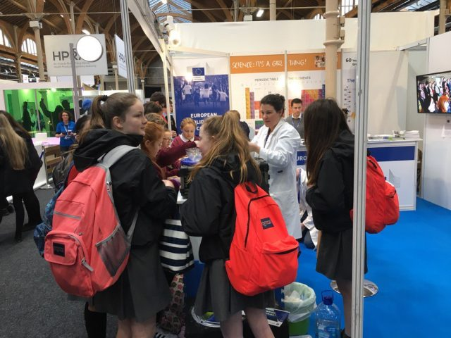 BT Young Scientist Exhibition 2017