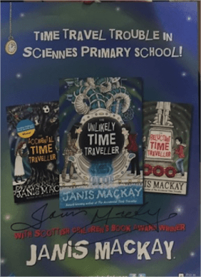 Sciennes own Time Traveller poster!