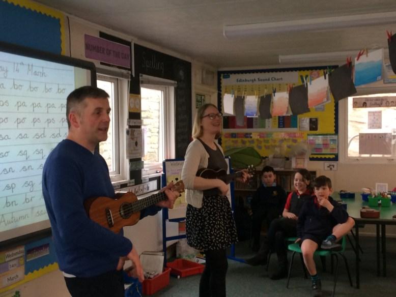 Jules and Nora ukulele