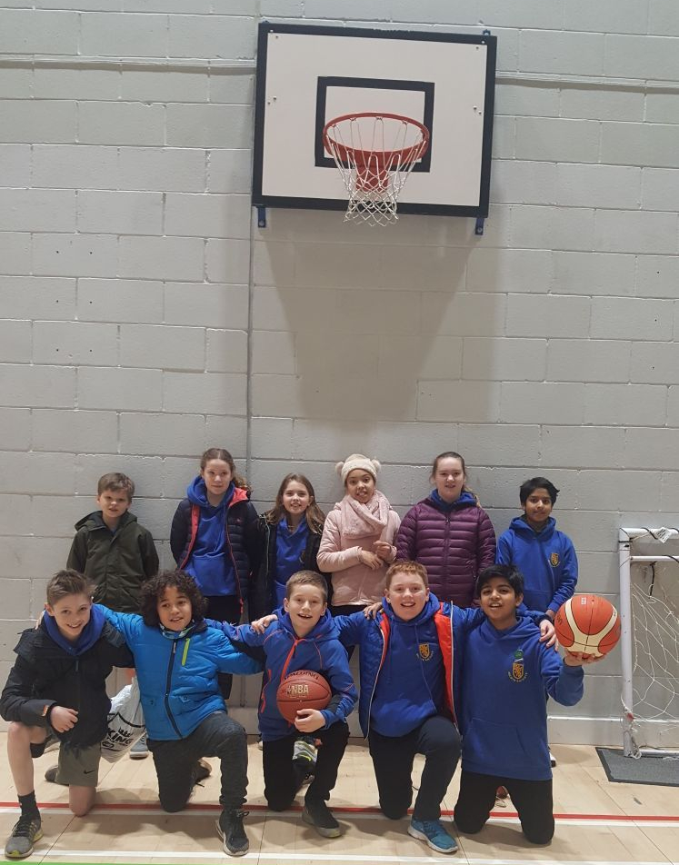 First Place in Basketball Heats in January