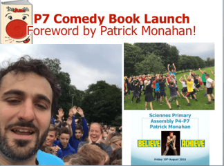 Wonderful comedian Patrick Monahan