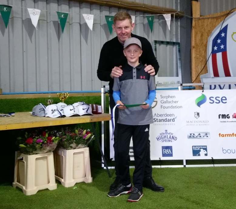 Daniel with Stephen Gallacher
