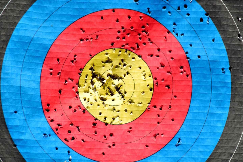 bullseye center illustration round