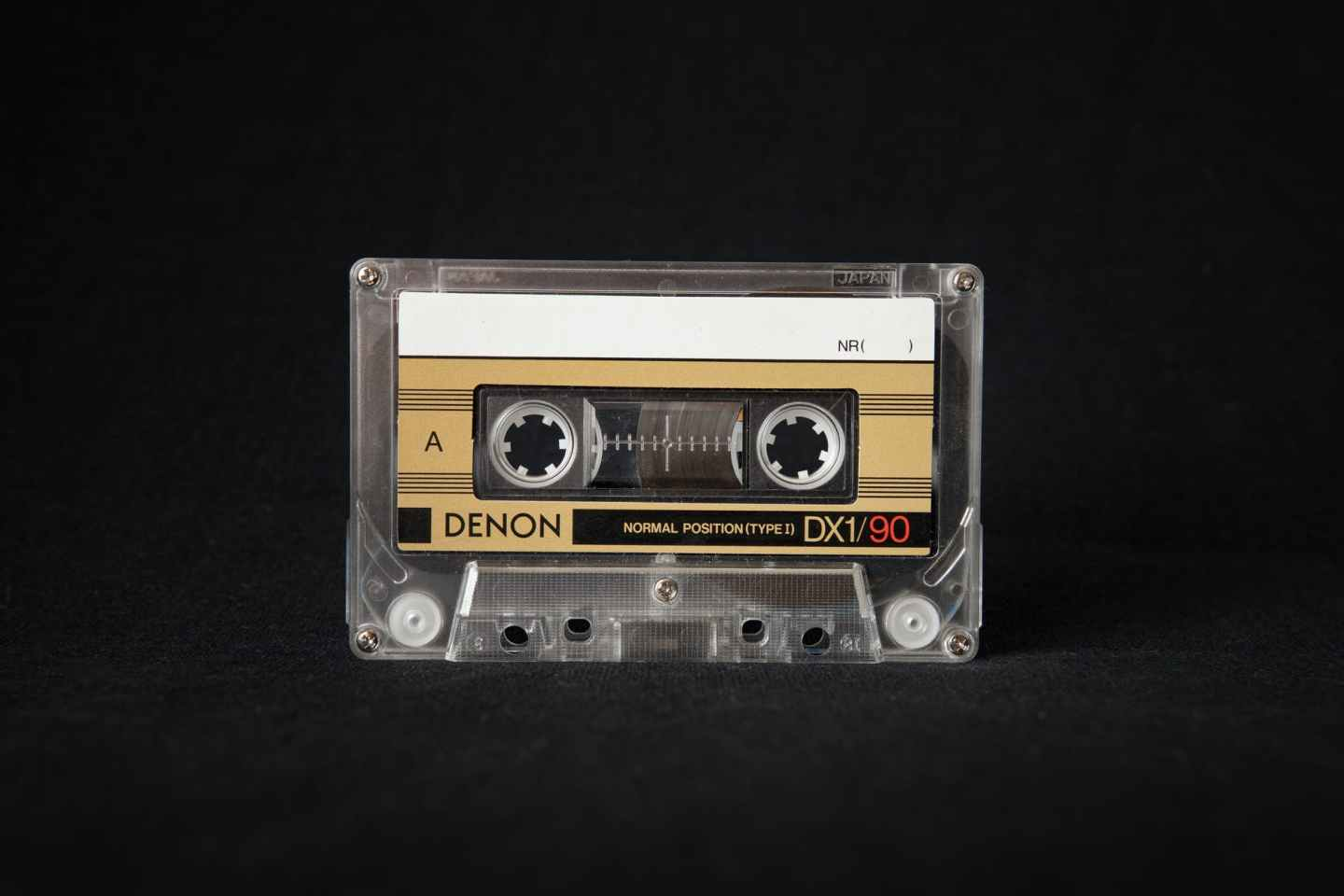 close up photo of cassette tape