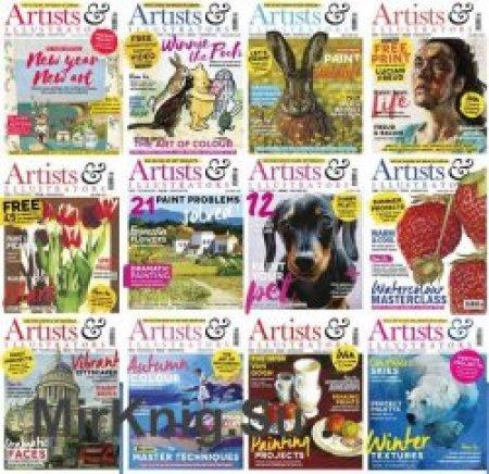 Artists-Illustrators-2018-Full-Year-Issues-Collection Artists & Illustrators - 2018 Full Year Issues Collection