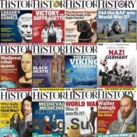 BBC History Magazine UK - 2018 Full Year Issues Collection